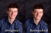 Retouched Examples
